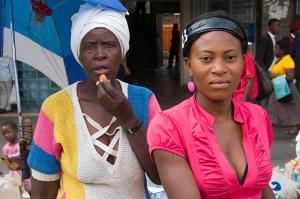 Street market in Bulawayo, Zimbabwe